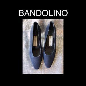 BANDOLINO Navy Blue Size 7.5 Shoes